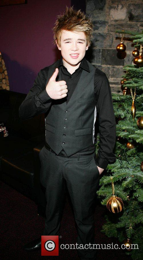 X Factor loser Eoghan Quigg  at the...