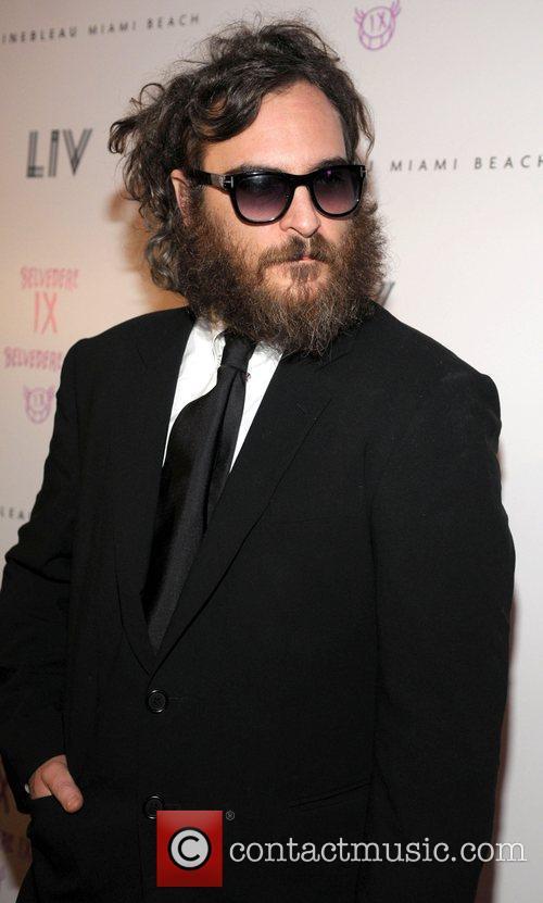 Joaquin Phoenix  arrives at LIV Nightclub at...
