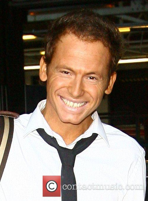 Joe Swash leaving The London Studios after appearing...