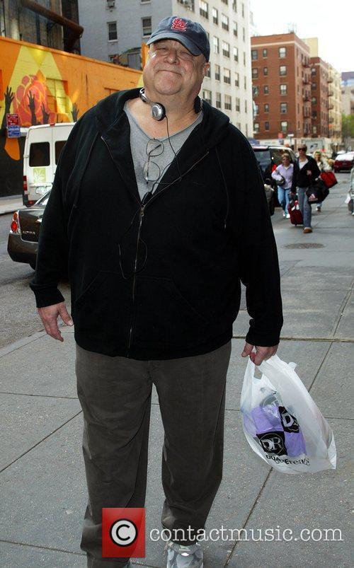 John Goodman seen out walking in Manhattan. New...