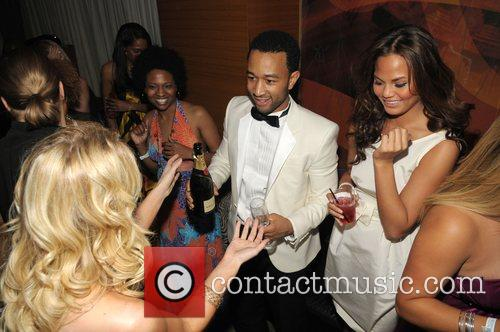 John Legend and Girlfriend Christy Teigen 2