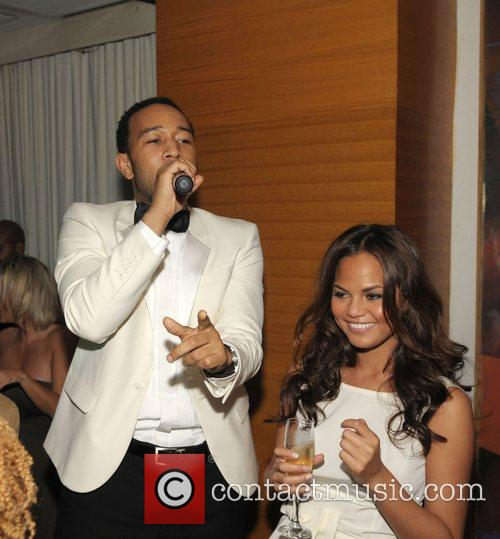 John Legend and Girlfriend Christy Teigen 5