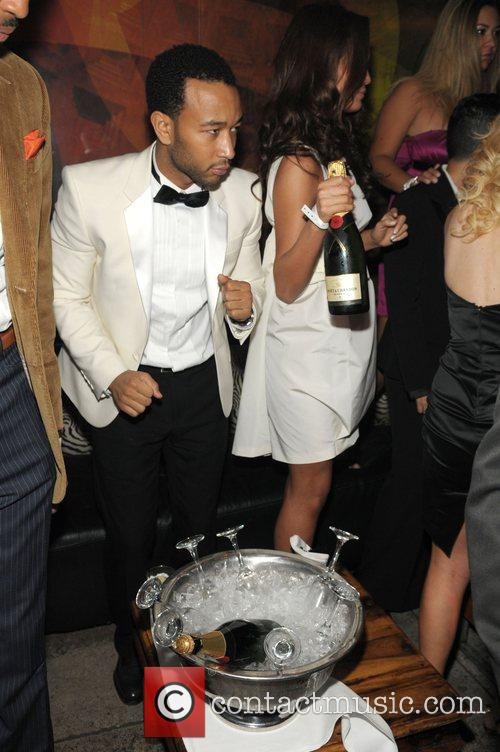 John Legend and girlfriend Christy Teigen 13