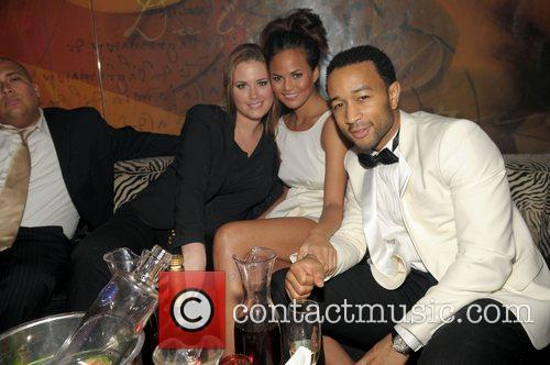 John Legend and girlfriend Christy Teigen 12