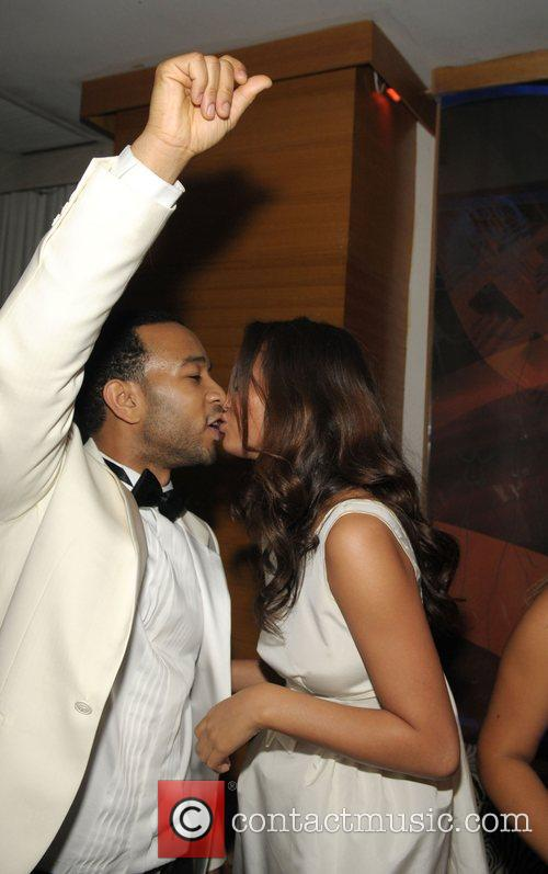 John Legend and Girlfriend Christy Teigen 10