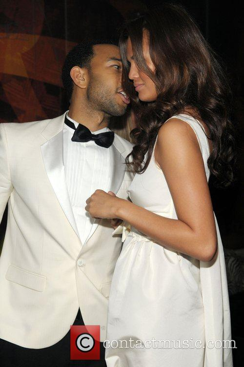 John Legend and Girlfriend Christy Teigen 1