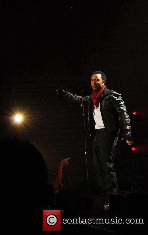 John Legend performs at Rimac Arena