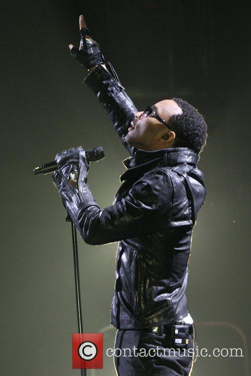 John Legend performing at Zenith de Paris Paris,...