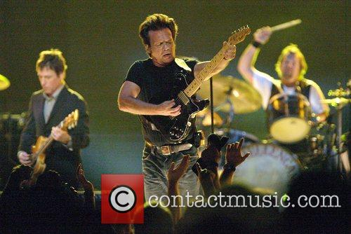 John Mellencamp performing live in concert at Acer...