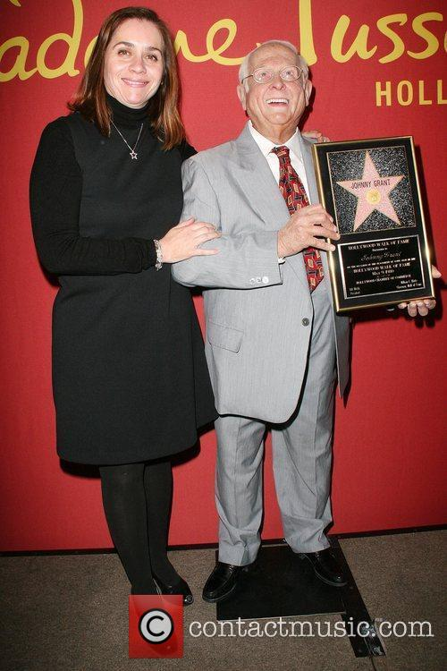 Anna Martinez-Holler Hollywood's celebrity mayor Johnny Grant immortalized...