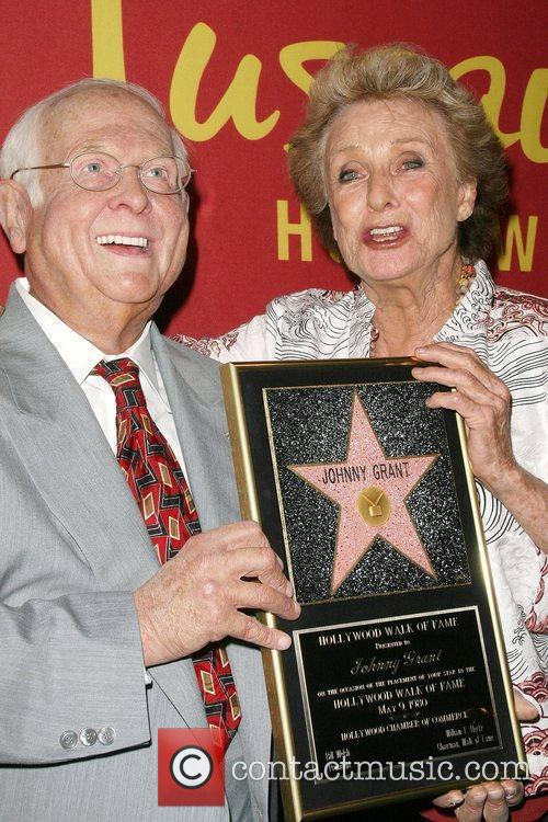 Cloris Leachman with Johnny Grant was figure Hollywood's...