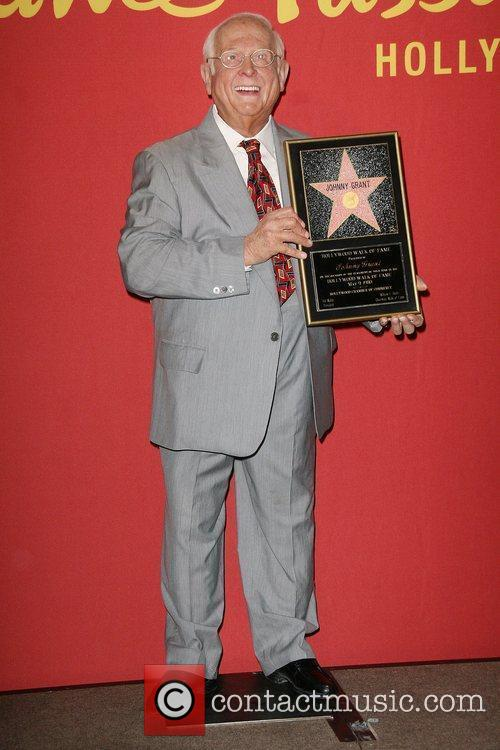 Hollywood's celebrity mayor Johnny Grant immortalized in wax...