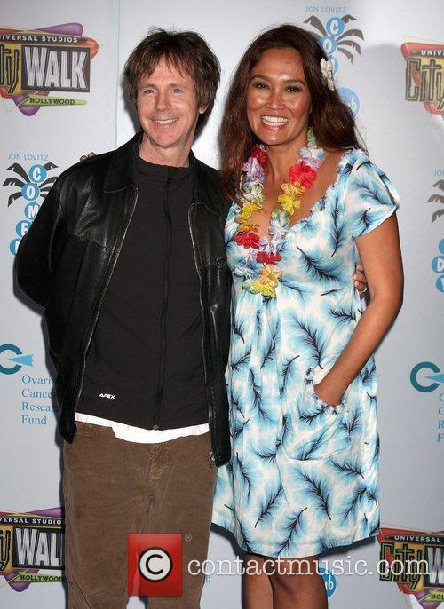 Dana Carvey and Tia Carrere 2