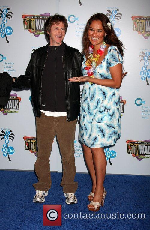 Dana Carvey and Tia Carrere 1