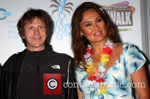 Dana Carvey and Tia Carrere 7