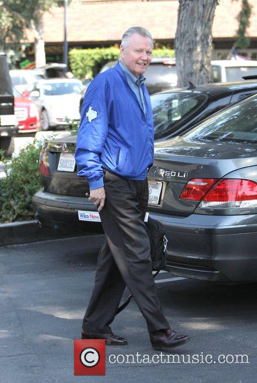 Jon Voight out and about at the Beverly...