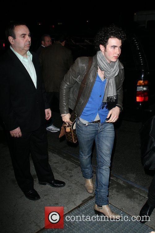 Kevin Jonas Jonas Brothers returning to their Manhattan...