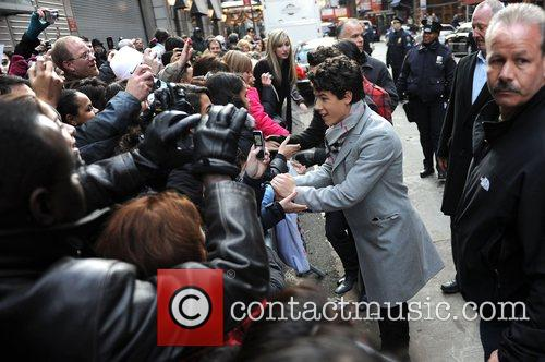Nick Jonas The Jonas Brothers visit Good Morning...