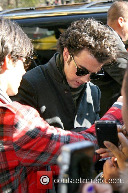 Kevin Jonas The Jonas Brothers arrive back at...