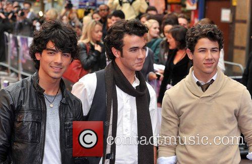 Kevin Jonas, Joe Jonas, Nick Jonas, Empire Leicester Square