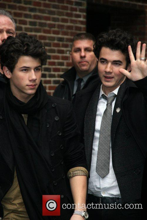 Joe Jonas and David Letterman 3