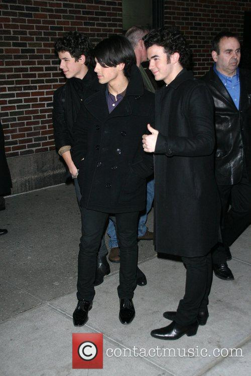 Joe Jonas and David Letterman 5