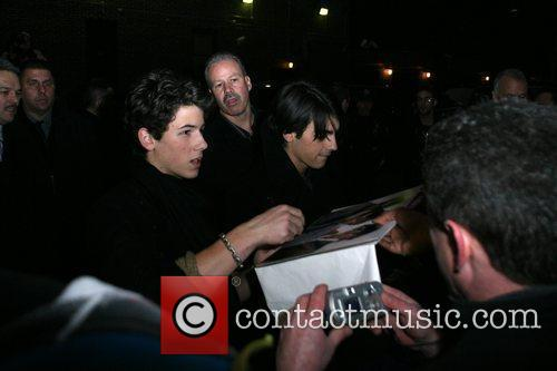 Jonas Brothers and David Letterman 2