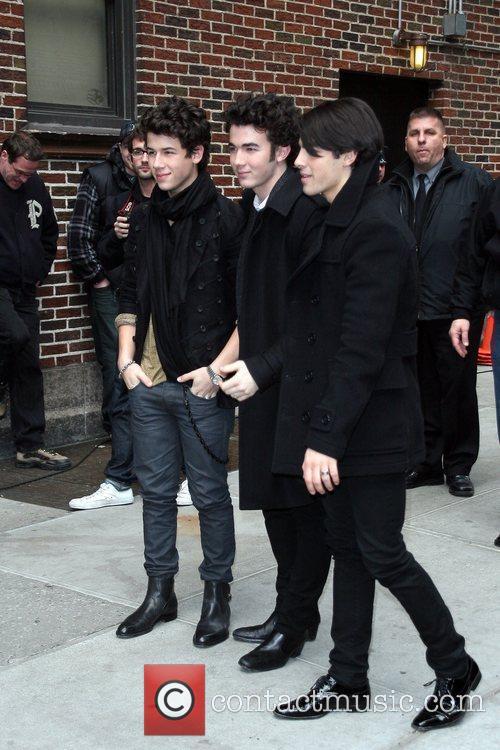 Nick Jonas and Kevin Jonas and Joe Jonas...