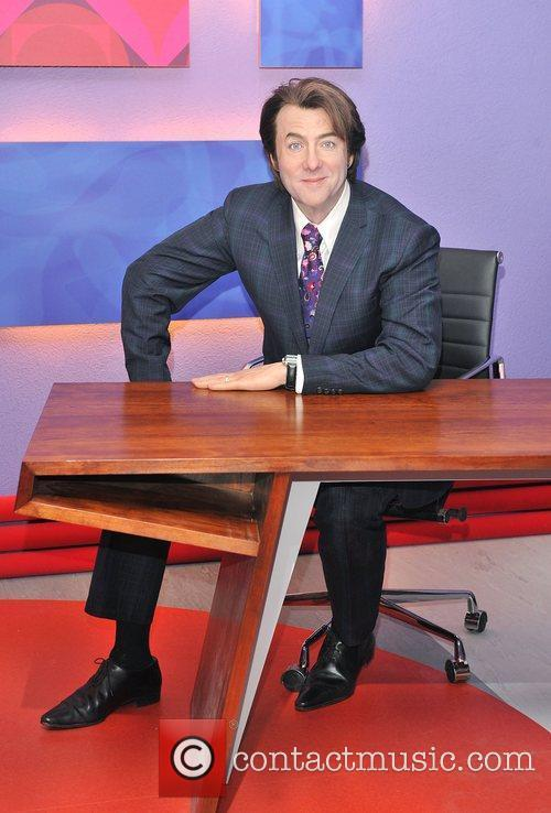 Unveiling of Jonathan Ross' wax figure at Madame...