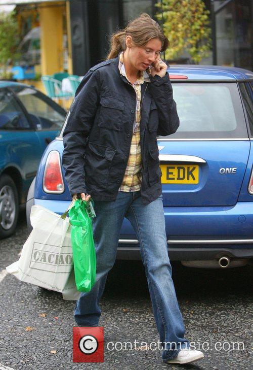 Jools Oliver out shopping in Primrose Hill London,...