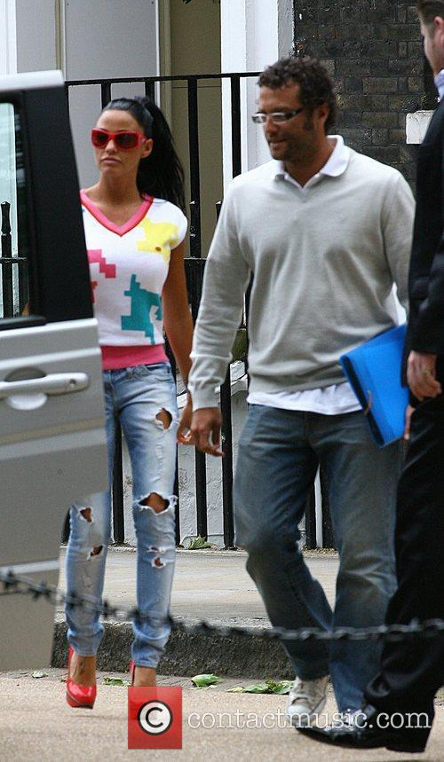 Katie Price and Peter Andre 1