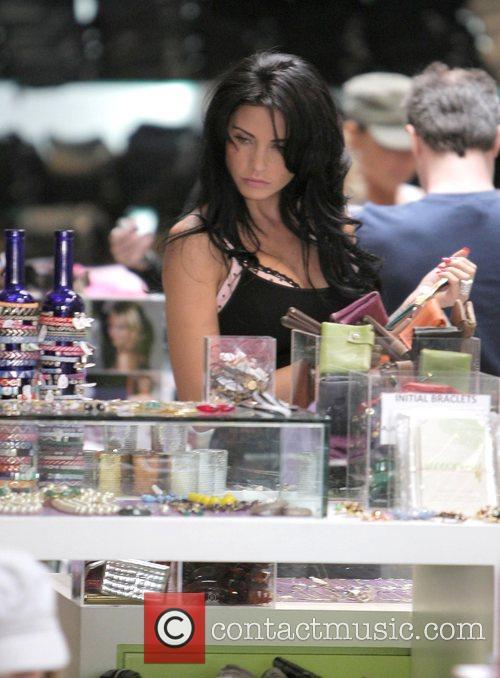 katie price aka jordan goes shopping at kitson boutique on robertson boulevard 2152475