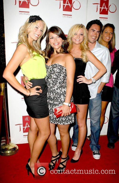 DeAnna Pappas and Jeremy Anderson with friends Jorge...