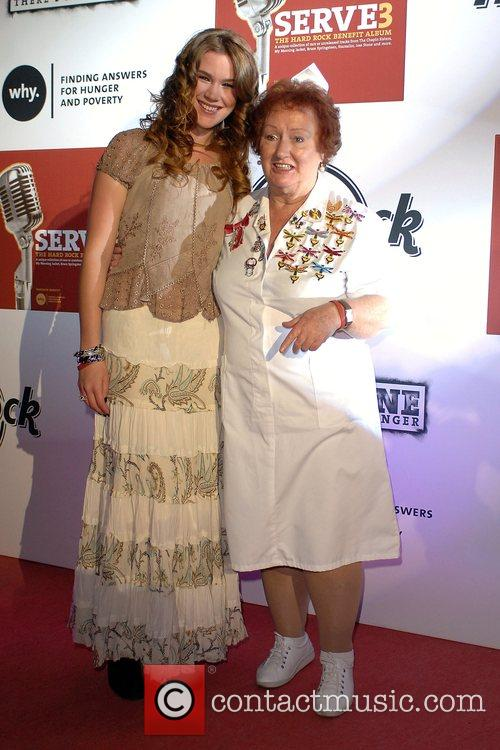 Joss Stone and Rita Gilligan Mbe 2