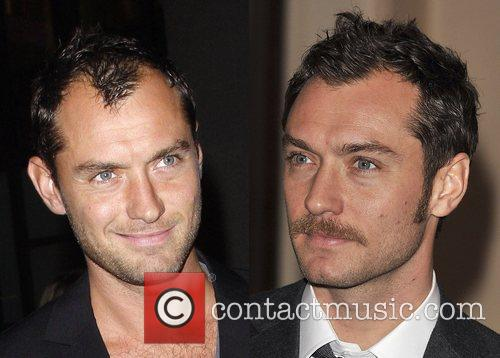 * LAW'S HAIR-RAISING NEW 'DO Actor JUDE LAW...