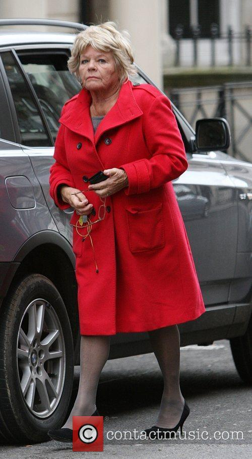 Judith Chalmers arrives at Claridges to meet her...