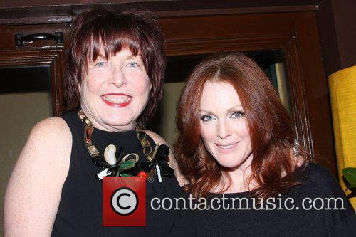 Marilyn Minter and Julianne Moore A private dinner...