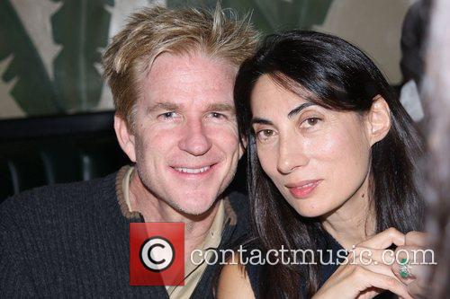 Matthew Modine and Anh Duong A private dinner...