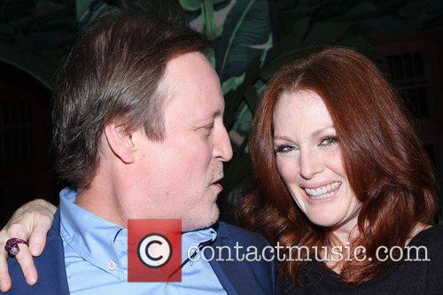 Patrick Mcmullan and Julianne Moore 2