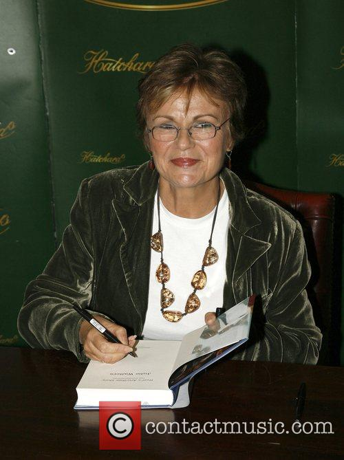 Actress Julie Walters  signs copies of her...