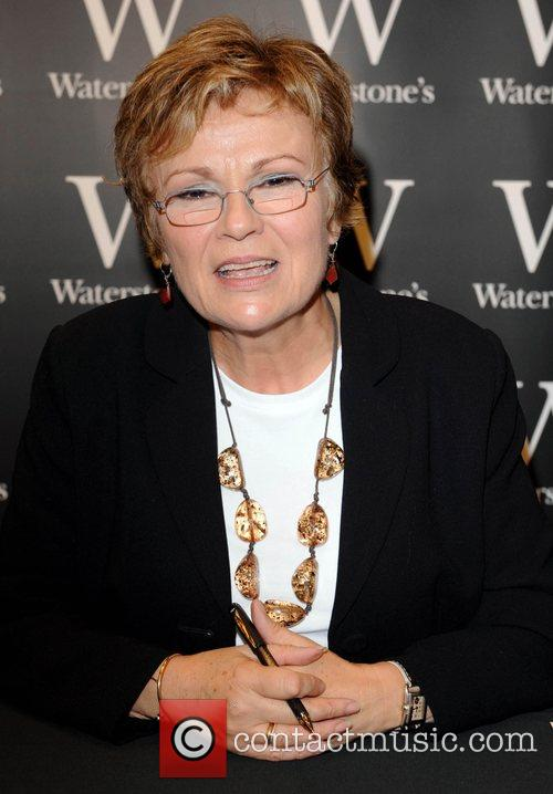 Julie Walters  signs copies of her new...