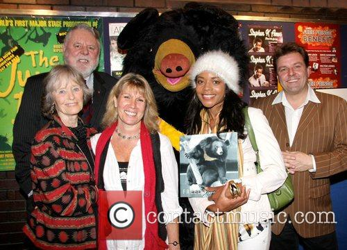Terry Waites, Virginia McKenna, Naomi Harris, Guest, Martin...