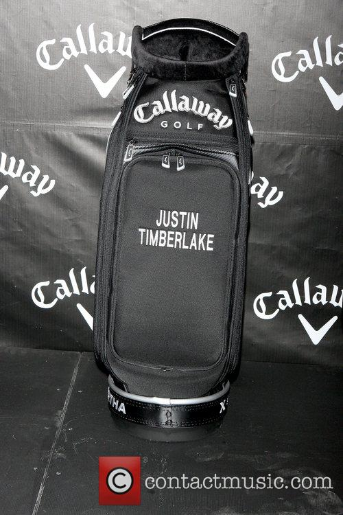 Justin Timberlake teams up with Callaway Golf to...