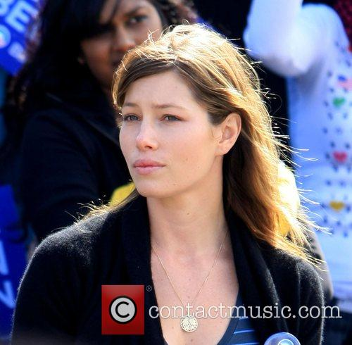 Jessica Biel attends the Last Chance for Change...