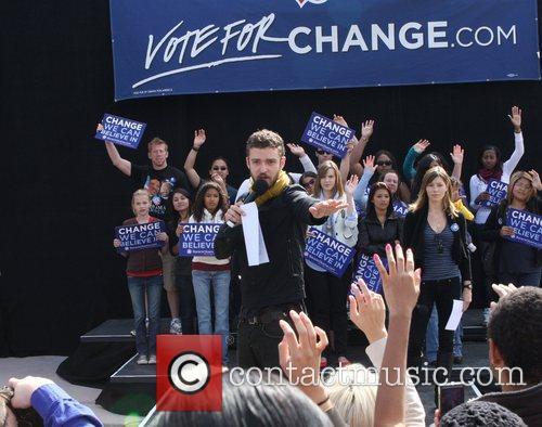 Justin Timberlake and Jessica Biel attend the 'Last...