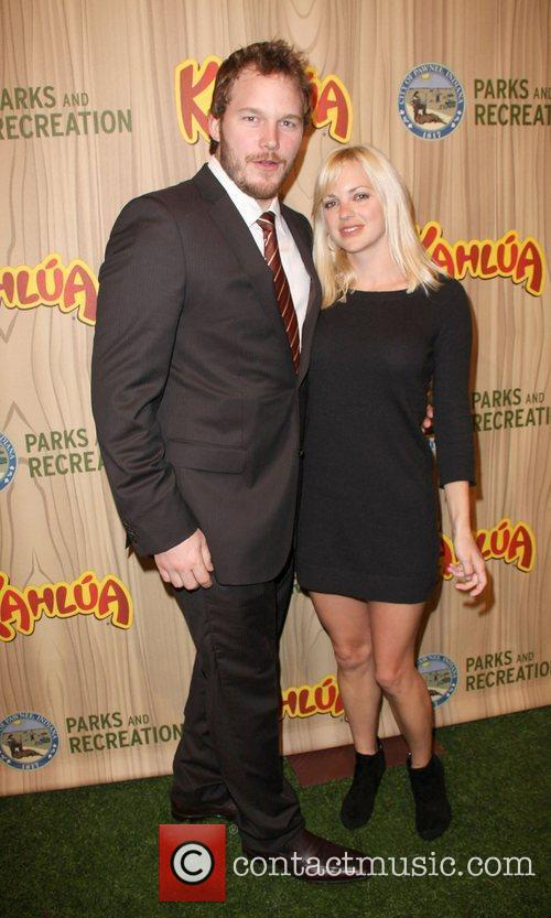 Chris Pratt and Anna Faris  Kahlua Celebrates...