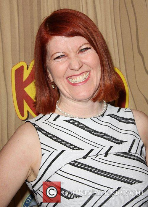 Kate Flannery Kahlua Celebrates The Premiere Episode of...