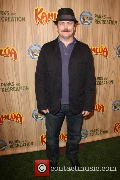 Nick Offerman Kahlua Celebrates The Premiere Episode of...