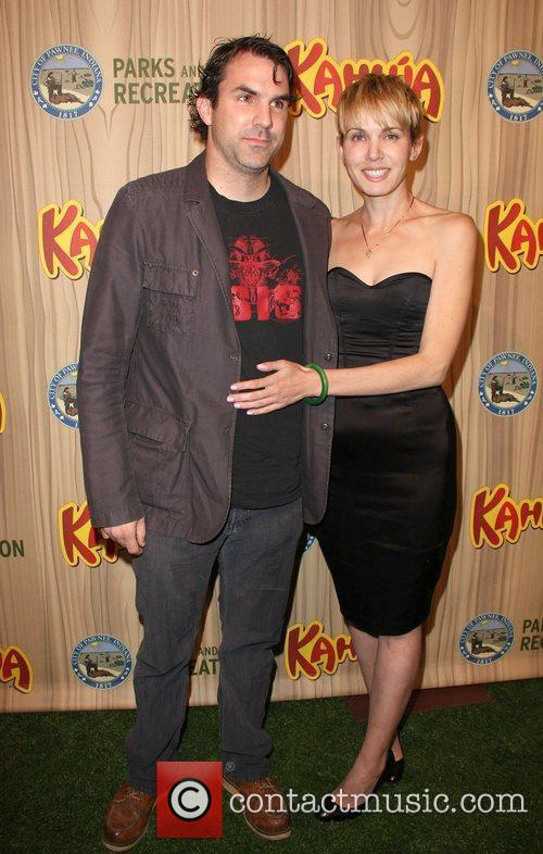 Paul Schneider and Guest Kahlua Celebrates The Premiere...