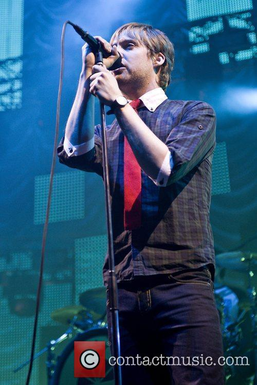 Ricky Wilson Kaiser Chiefs performing in concert at...